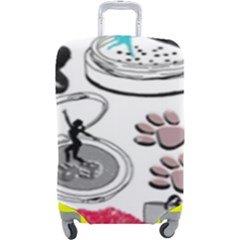 Love2 Luggage Cover (large)