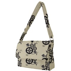 Angels Full Print Messenger Bag (l)