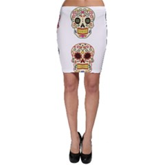 Day Of The Dead Day Of The Dead Bodycon Skirt