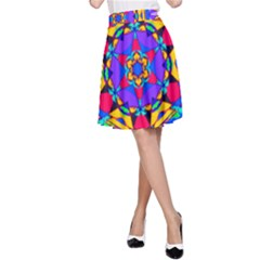 Fairground A-line Skirt