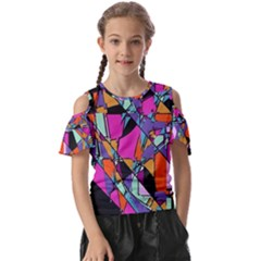 Abstract 2 Kids  Butterfly Cutout Tee