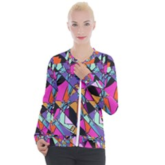 Abstract 2 Casual Zip Up Jacket