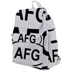 Afghanistan Afg Oval Sticker Top Flap Backpack