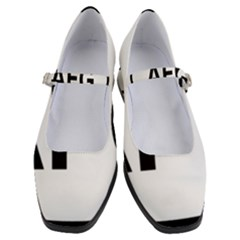 Afghanistan Afg Oval Sticker Women s Mary Jane Shoes