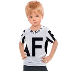 Afghanistan Afg Oval Sticker Kids  Sports Tee