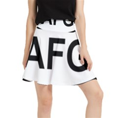 Afghanistan Afg Oval Sticker Waistband Skirt
