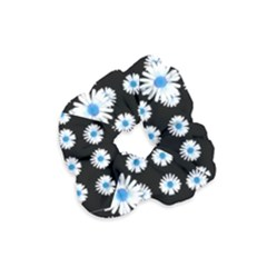 Festive Flowers For The Perfect Day In Peace Velvet Scrunchie