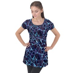 Tantha Puff Sleeve Tunic Top