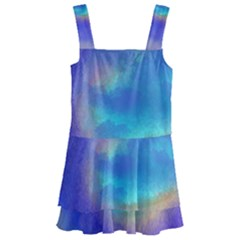 Untitled Artwork (1) Kids  Layered Skirt Swimsuit