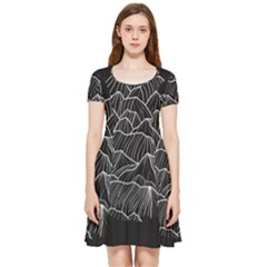 Black Mountain Inside Out Cap Sleeve Dress