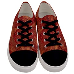 Animalprintfnl1 Men s Low Top Canvas Sneakers