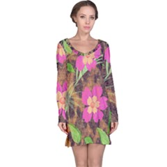 Jungle Floral Long Sleeve Nightdress