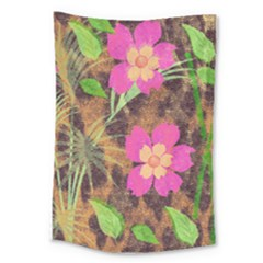 Jungle Floral Large Tapestry