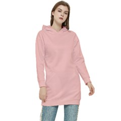 Color Melon Women s Long Oversized Pullover Hoodie