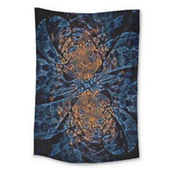Fractal Galaxy Large Tapestry