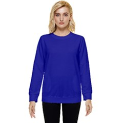 Color Navy Two Sleeve Tee With Pocket
