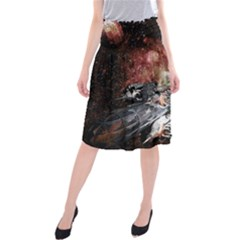 Space Midi Beach Skirt