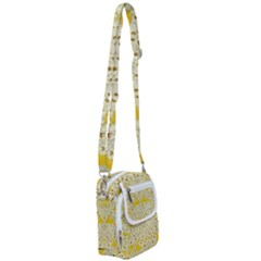 Sunshine Colors On Flowers In Peace Shoulder Strap Belt Bag