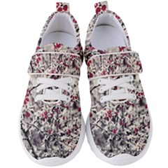 Berries In Winter, Fruits In Vintage Style Photography Women s Velcro Strap Shoes