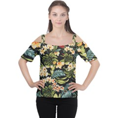 Jungle Cutout Shoulder Tee