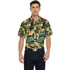 Jungle Men s Short Sleeve Pocket Shirt