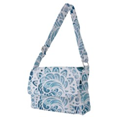 Coquillage-marin-seashell Full Print Messenger Bag (m)