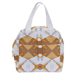 Abstract African Pattern Boxy Hand Bag