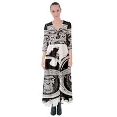 Spacemonkey Button Up Maxi Dress by goljakoff