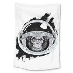 Spacemonkey Large Tapestry