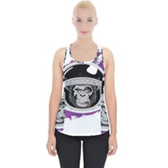 Purple Spacemonkey Piece Up Tank Top
