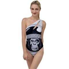 Spacemonkey To One Side Swimsuit