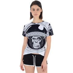 Spacemonkey Open Back Sport Tee