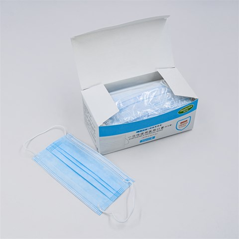 3-Ply Surgical Masks (100pcs)