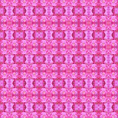 pretty pink flower pattern