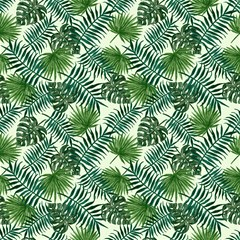 leaves tropical wallpaper foliage