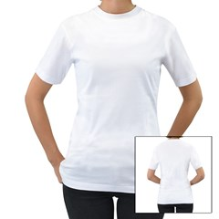Women s T-Shirt (White) (Two Sided) Icon