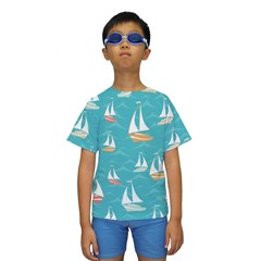 Kids  Short Sleeve Swimwear Icon