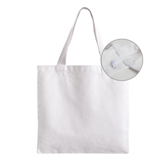 Zipper Grocery Tote Bag Icon
