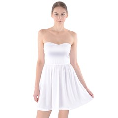 Strapless Bra Top Dress Icon