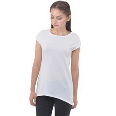 Cap Sleeve High Low Top Icon