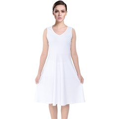 V-Neck Midi Sleeveless Dress  Icon