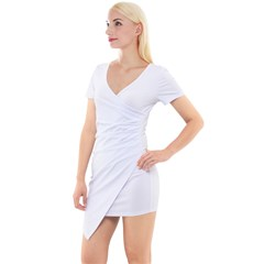 Short Sleeve Asymmetric Mini Dress Icon