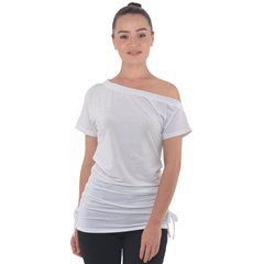 Off Shoulder Tie-Up Tee Icon