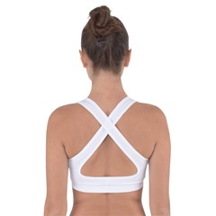 Cross Back Sports Bra Icon