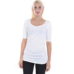 Wide Neckline Tee Icon