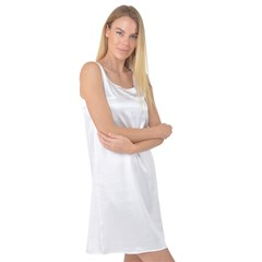 Sleeveless Satin Nightdress Icon