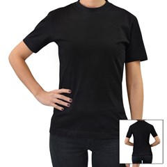 Black Women s T-Shirt Icon