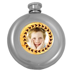 Round Hip Flask (5 oz) Icon