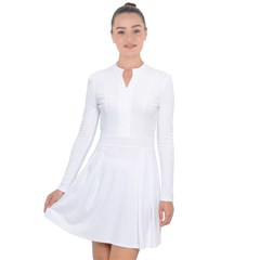 Long Sleeve Panel Dress Icon