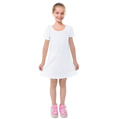 Kids  Short Sleeve Velvet Dress Icon